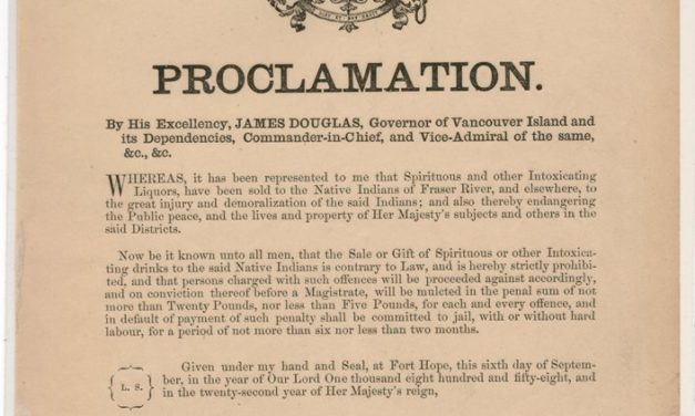 British Columbia Sep 1858 Proclamations from Governor James Douglas