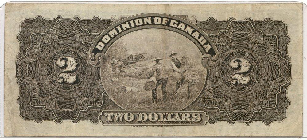 Dominion of Canada #DC14b 1897 $2