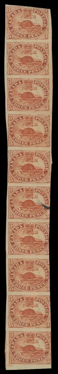 10 three penny Beavers