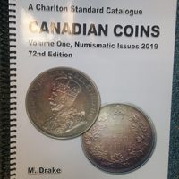 Charlton Canadian Coins Volume One, Numismatic issues, 2019, 72nd Edition