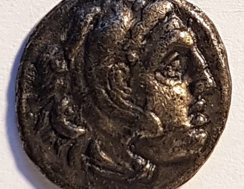 Alexander the GreatXF 3m Silver Drachm