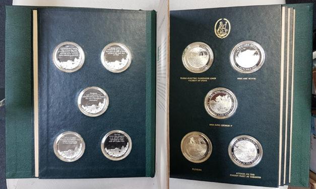 Mountbatten Medallic History of G.B. & the Sea Vol IV 25 Silver Medals Lot 186