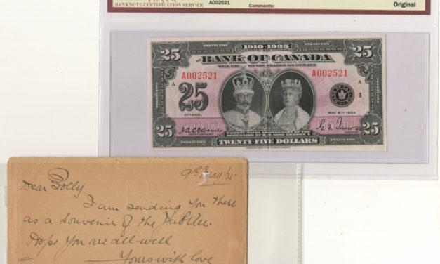 Bank of Canada #BC11 BCS EF40 Original 1935 $25 Banknote