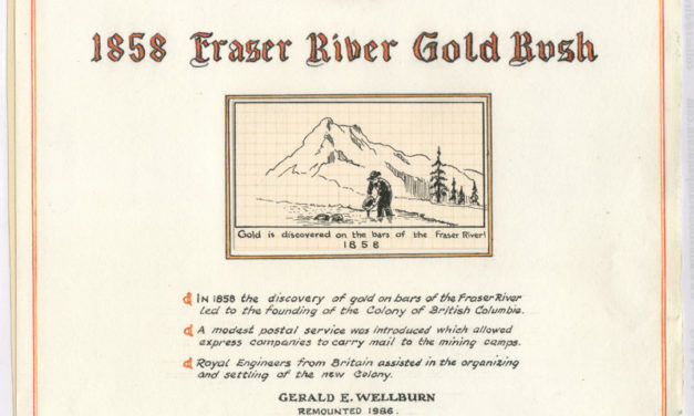 1858 Fraser River Gold Rush by Gerald Wellburn