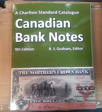 2019 Charlton Canadian (Chartered) Bank Note