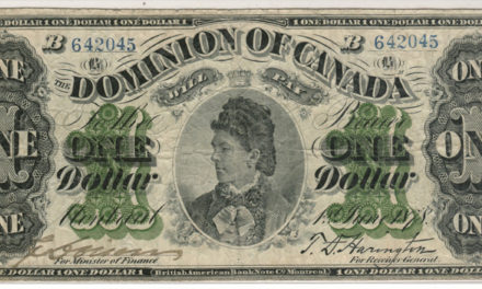Dominion of Canada 1878 Countess of Dufferin $1 Banknote