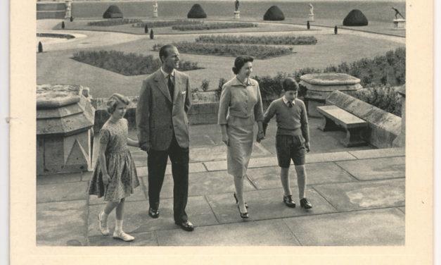 Queen Elizabeth II & Prince Philip Signed 1959 Christmas Card