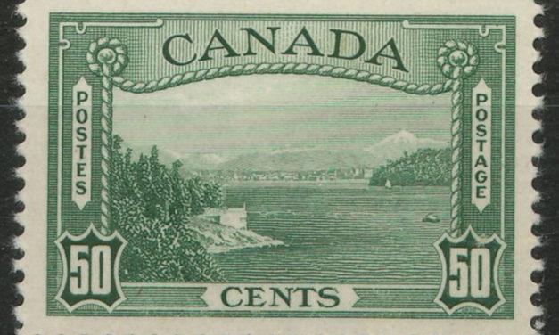 Canada #244 1938 50c Vancouver