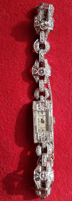 front of watch and strap