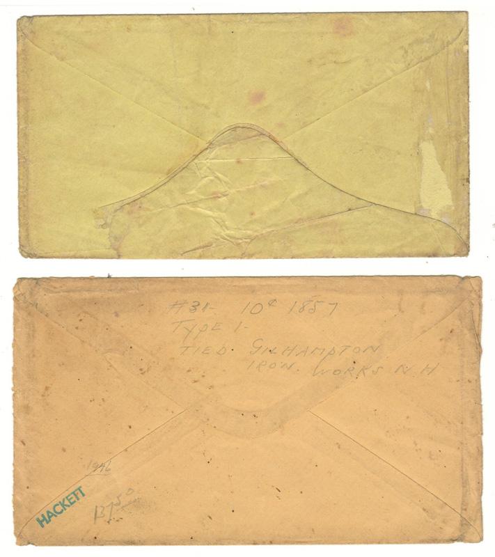 other side of envelopes