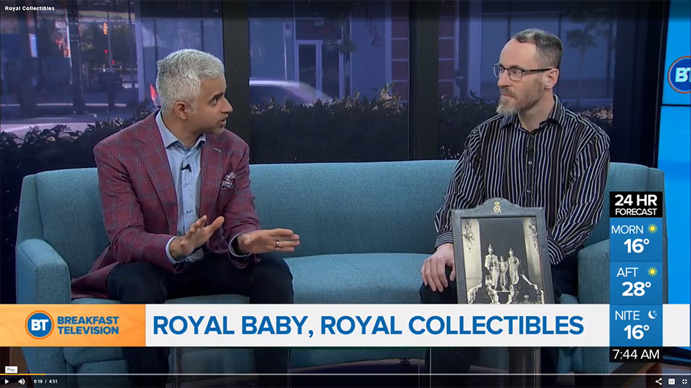 Royal Collectibles CT interview with Brian