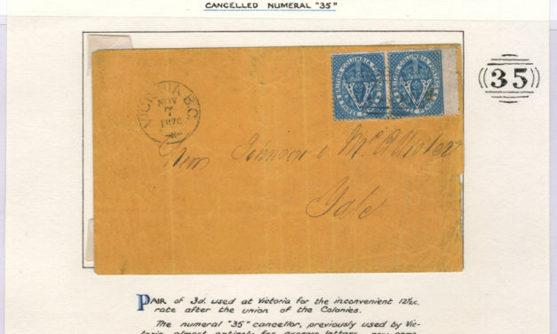 Victoria, B.C. 7 Nov 1870 6d Cover to Yale ex Wellburn