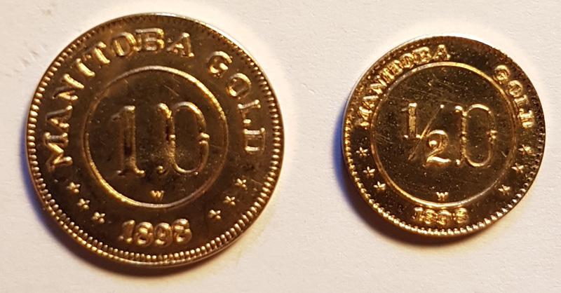 Reverse Manitoba Gold 2 pieces