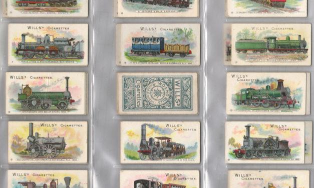 Wills' 1901 Locomotives & Rolling Stock Cigarette Card Set (50)