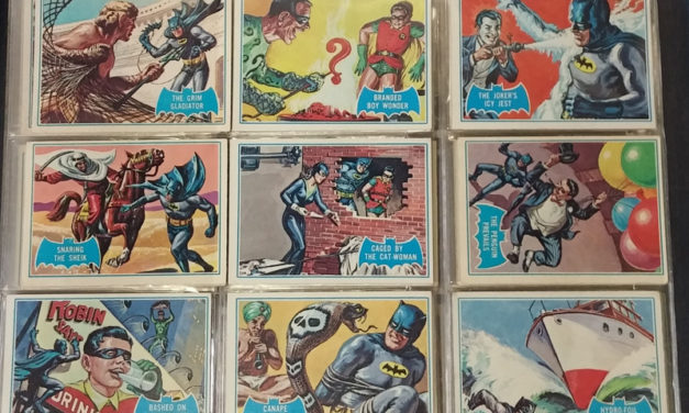 200Batman 1966 Topps Card Set trio in pages (143)