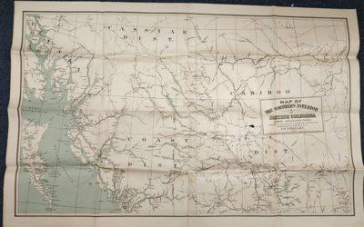 B.C., G.B., & Pacific Coast 1880s/1910s Maps & Contracts