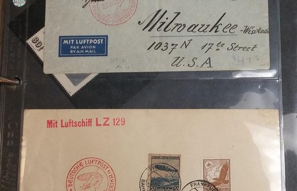 Aerophilately Covers, Cards and ephemera collection balance (26 pcs)