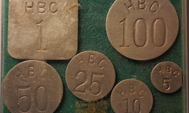 Eastern Arctic 1946 VF+ Hudson's Bay Company 6-token Set