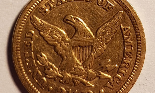 U.S.A. VF 1849 $2.50 Gold Quarter Eagle .12094oz AGW