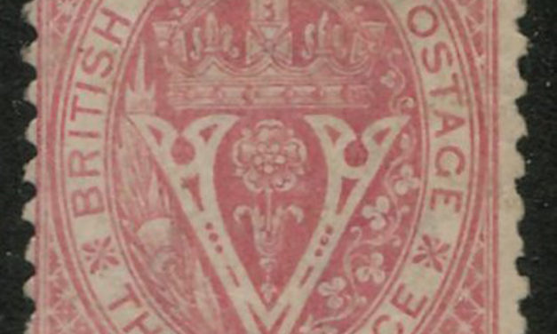 B.C. #15 Fine Mint O.G. 1869 10c on 3d Lilac Rose