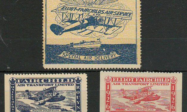 Canada #CL9-11 Never Hinged 1926 25c Fairchild Air trio $257