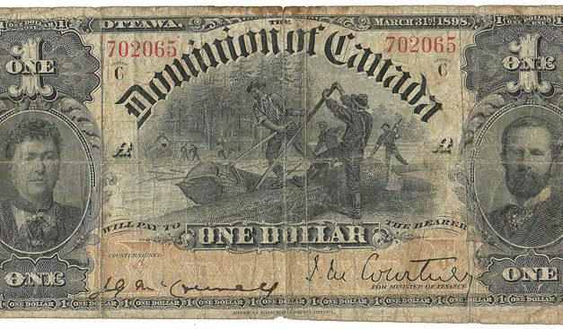 Dominion of Canada #DC13a 1898 $1 Bill