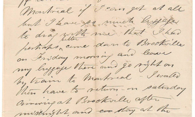Intercolonial Railway Ottawa 4 June 1873 Marcus Smith 1-page letter