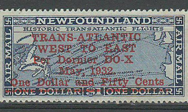 Newfoundland #C12 1932 $1.50 Do-X Airmail