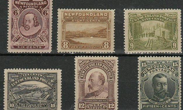 Newfoundland #98-103 1911 Guy Set (6)