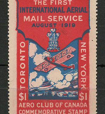 Aero Club #CLP3 Unused 1919 $1 only 3000 printed