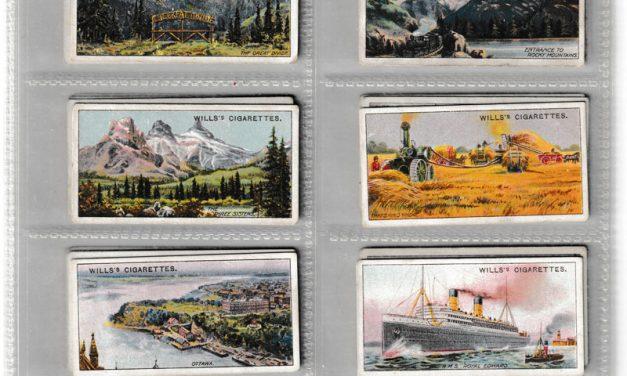 Wills' 1914 Overseas Dominions Canada cigarette card Set (50)