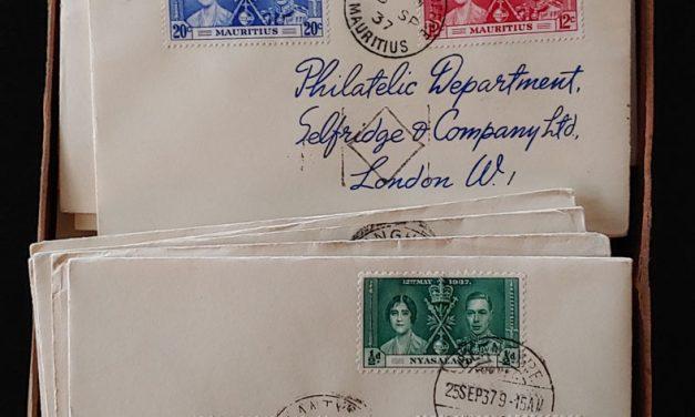 1937 Coronation Selfridge's Covers/FDCs in original box (206)
