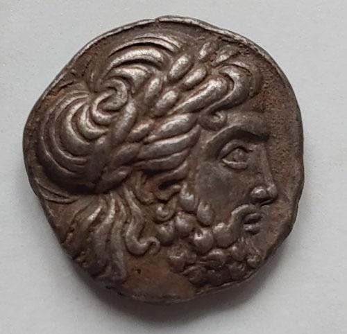Philip II 359-336 BC Macedonia 14gm Silver Tetradrachm w/ Zeus etc