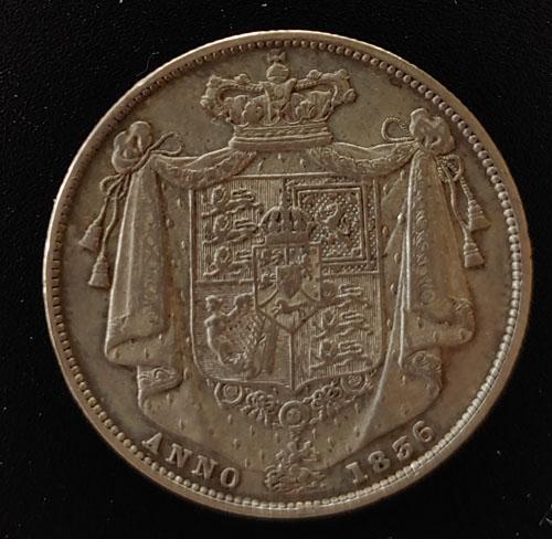 G.B./Colonial Canada AU/XF+ 1836 William IV Silver Half Crown $600+