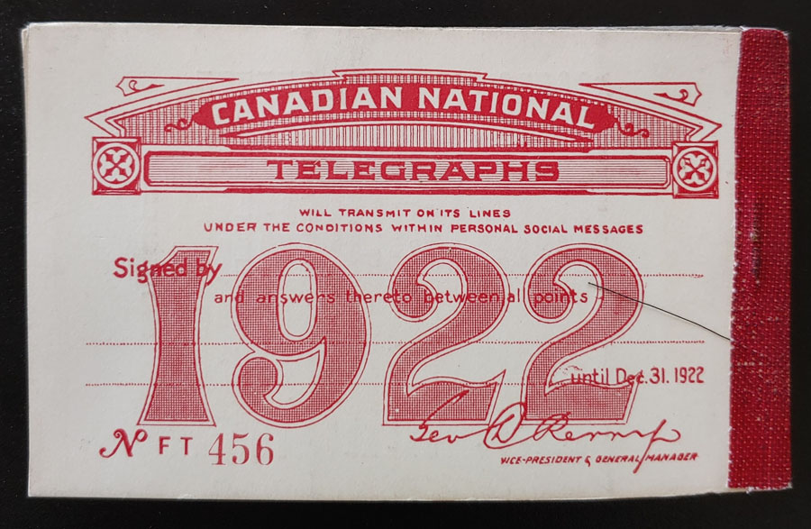 Canadian National #TCN2 Mint 6 pane Booklet dist gum $1,440