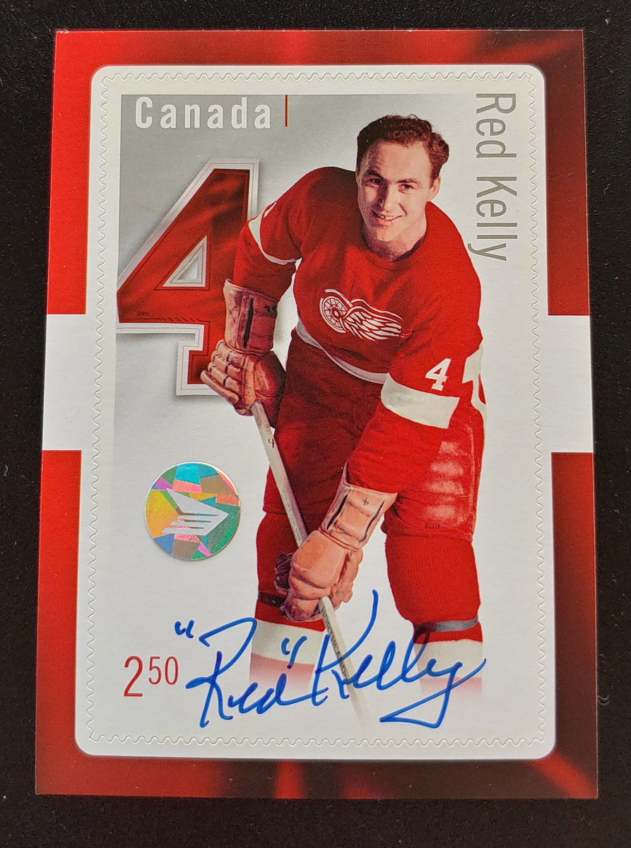 Canada Post #2793i VFNH 2014 $2.50 Red Kelly Signed $185