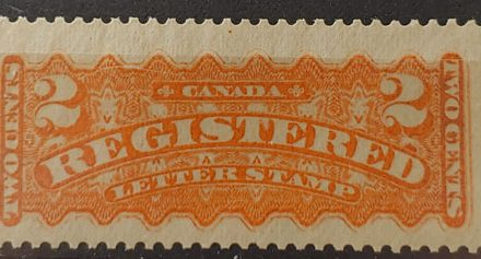 Canada #F1 F/VF Never Hinged 1875 2c R.L.S.