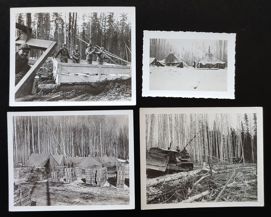 """View Book of the Alaska Highway 1943 6x9"""" 16 pgs plus 4 real photos"""
