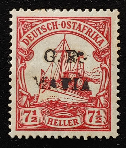 German East Africa #NL11 Mint 1915 7.5h spot of gum loss US$625