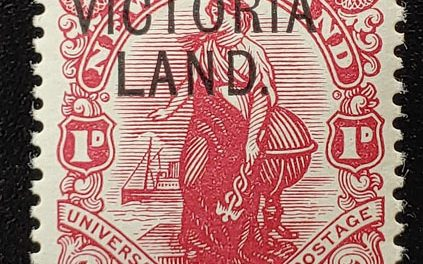 N.Z./Victoria Land #131d Never Hinged 1911/13 1d