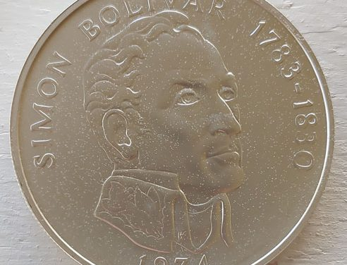 Panama BU 1974 Bolivar Silver 20 Balboas 3.85oz ASW