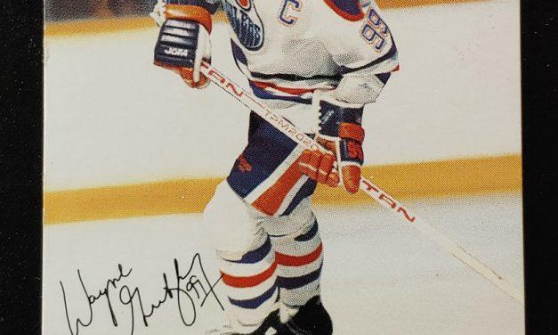 Wayne Gretzky 1988/89 Esso N.H.L. All Start Checklist card