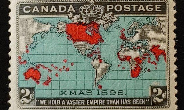 Canada #86b VFNH 1898 2c Map