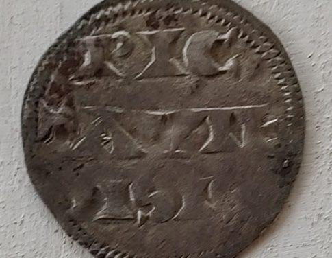 Anglo-Gallic Richard I Lion Heart 1189-1196 Silver Denier