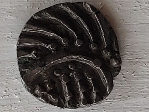 Anglo-Saxon 700-765 AD Porcupine type Silver Sceat