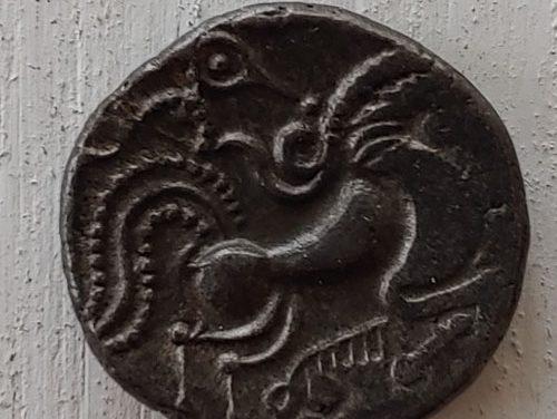 Celtic Gaul, Coriosolites 75-50 BC 6gm Billon Stater