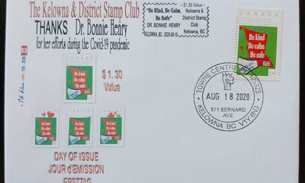 COVID-19 18 Au 2020 $1.30 Dr Henry Thank You Stamp FDC