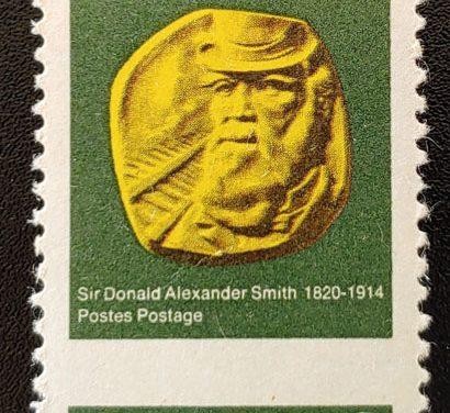 Canada #531 Mint 1970 6c C.P.R. Misperf, disturbed gum, ex Penko