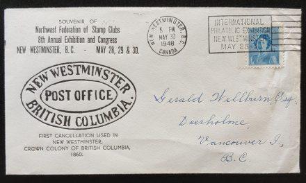 New Westminster, B.C. 29 Fe 1948 Leap Year, Show Cvr ex Wellburn
