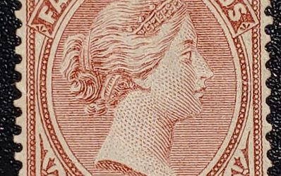 Falkland Islands #1 Mint part OG HR 1878 1d Claret